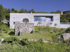 Casa de Concreto e Pedra