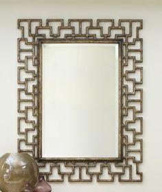 Fretwork Mirror, Hooker Furniture, Melange Collection | Home Gallery Stores