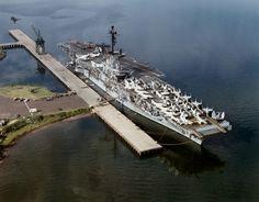 USS Ticonderoga (CVA-14) - Essex class Aircraft Carrier [SCB-125] (USA)