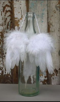 those would be cute if smaller angel wings for a Christmas tree