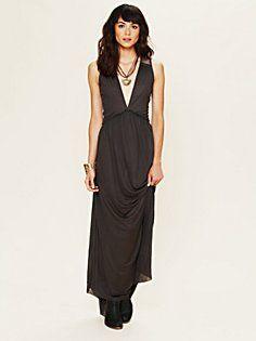 Plunging V Maxi Dress  $348.00