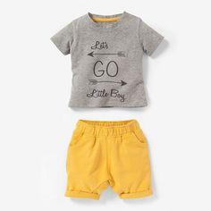 Ensemble 2 pièces T-shirt et short R baby
