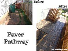 DIY Paver Path | Summer project | DIY Hardscape