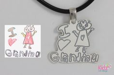 Have your child's artwork transformed into sterling silver jewelry at www.kidzcandesign.com !