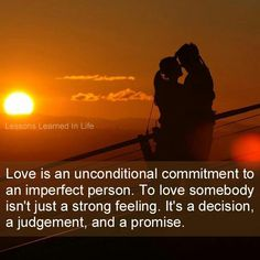 "Love is?? Maybe someday :-) or when ""SOMEONE"" makes a decision to CHANGE their life."