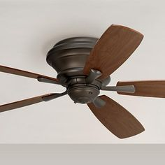 "MASTER // $180, 52"" Casa San Marin Oil-Rubbed Bronze Hugger Ceiling Fan"