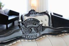 Rocking chair detail   Schaukelstuhl-Detail im ARCOTEL John F Berlin Hotel, Berlin Mitte, Design Hotel, Museum Island, High Standards, 4 Star Hotels, Rocking Chair, Hotel Offers, Combat Boots