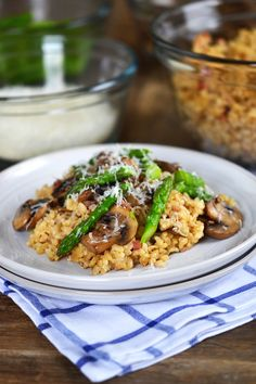 Gluten Free Brown Rice Risotto Recipe (not for the 30 day cleanse, but still arbonne-like!)