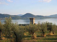 Isola Polvese, Lago Trasimeno, Perugia