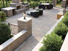 Walkway Inspiration Ideas - Legends Landscape Supply Inc. Landscaping Supplies, Yard Landscaping, Modern Garden Design, Walkways, Legends, Composition, Patio, Landscape, Outdoor Decor