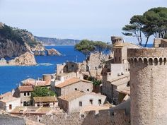 Tossa de Mar, loved the old town walls