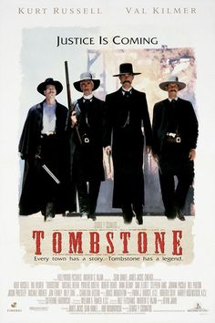 Tombstone Movie Poster EDFD