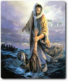 When if feels like your drowning, look up there is always a hand to hold onto. That hand is Jesus : ) glory to God!