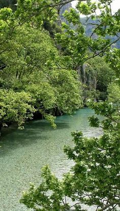 Voidomatis river, Epirus, Greece
