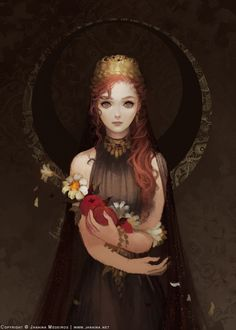 [Persephone by JanainaArt on DeviantArt]