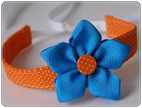 Baby Blvd: Ribbon Flower Tutorial