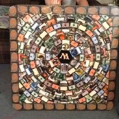 Magic the gathering table 0.0 I gotta make this but on a foldable table