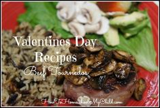 Valentine's Day Recipes | Valentine's Day Recipes – Beef Tournedos for Two {Monday Meals}