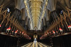 Inside Picture of Westminster Abbey, London