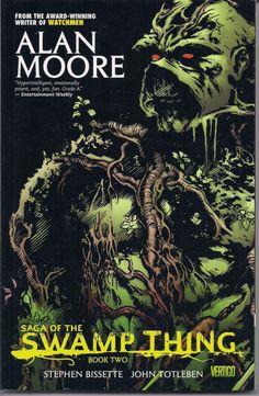 Saga of the SWAMP THING,Book 2,Alan Moore,Stephen Bissette, John Totleben, Berni Wrightson,Vertigo,DC Comics