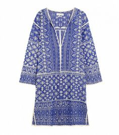 Etoile Isabel Marant Bloom Woven Cotton-Blend Mini Dress ($480)