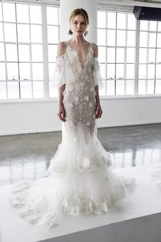 Marchesa Spring 2018 Bridal Fashion Show - The Impression