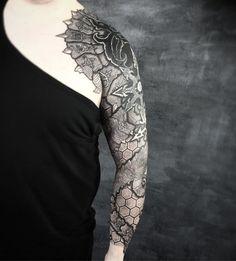 Vikings Tattoos By Peter Walrus Madsen, A Mash-Up Of Nordic Folk Art And Geometry | KickassThings