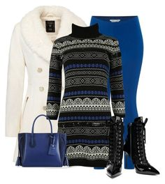 Winter in Black and Blue by stephaniefb on Polyvore featuring polyvore, fashion, style, Blugirl, White Stuff, Giuseppe Zanotti, Longchamp and clothing