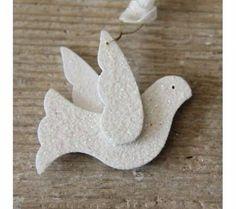 pomba feita em EVA para primeira eucaristia