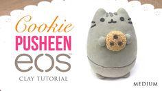 Pusheen Cat & Cookie DIY EOS Clay Tutorial!