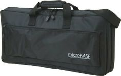 Korg MicroKase Keyboard Bag for microKORG and microKONTROL by Korg. $44.99. Korg's soft carry case made specifically for the microKORG and microKONTROL keyboards. The microKASE also includes a detachable shoulder strap.
