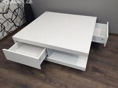 Konferenční stolek HILJA, materiál voštinový rám, povrch - obrázek číslo 4