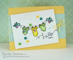 Curtain Call Challenge - Card by Jennifer Jackson using Winged Wishes Stamp set from Newton's Nook Designs