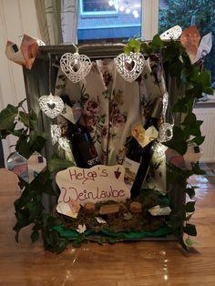 Weinlaube - gift ideas- Weinlaube – Geschenke ideen Weinlaube Weinlaube as a gift for your birthday. The post Weinlaube appeared first on Gifts ideas. Claudia S, German English, Diy Weihnachten, 50th Birthday, Diy Gifts, Fathers Day, Vines, Germany, Presents