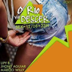 #VEJA Roxy: O Rio Vai Descer #60 #agenda @paroutudo via ParouTudo http://ift.tt/2bdGAm9 #Raynniere #Makepeace