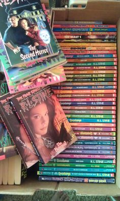 R.L. Stine Book Collection - Gift for the Young Reader. $160.00, via Etsy. I loved these books!