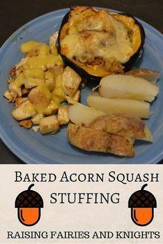 Stuffed Squash Recipe With Images Acorn Squash