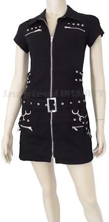 I found 'Bondage Gothic Zips + Straps Dress 10 ~ Cyber Punk Rock' on Wish, check it out!