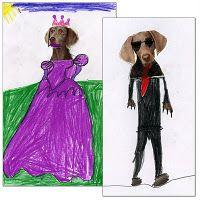 Art Projects for Kids: William Wegman Art by Students Group Art Projects, Animal Art Projects, Drawing Projects, Projects For Kids, Project Ideas, Kindergarten Art Lessons, Art Lessons Elementary, Art Sub Plans, Art Lesson Plans