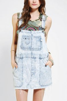 Urban Outfitters - Urban Renewal Cutoff Overall Dress Overalls Outfit, Urban Renewal, Urban Dresses, Overall Dress, T 4, New Outfits, Urban Outfitters, Ready To Wear, Celebrity Style
