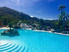 Hacienda Na Xamena. Pool area.