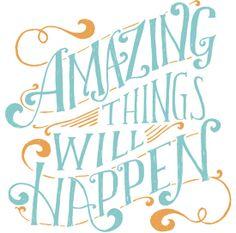 Nothing like some positive thinking!
