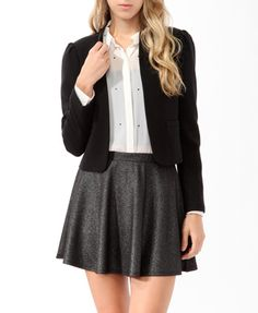 this is the prefect back to school uniform. super cute.