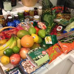5dsd Grocery Haul Grocery Haul, Spring Recipes, How To Slim Down, Blueberry, Healthy Recipes, Healthy Foods, Healthy Living, Health And Beauty, Vegetables