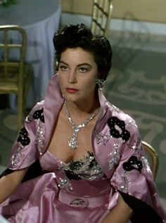 Les Créations des Soeurs Fontana ont été Portées par des Célébrités - Ava Gardner - La Comtesse aux Pieds Nus - 1954
