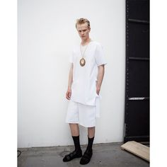 Damir Doma Men's SS16 Collection Available Online: Taden V Neck Top With Lacings, Passer Short With Side Slits And Fiesta Sandals. Visit Our Online Store: shop.damirdoma.com (link in bio). Photography Tassili Calatroni @tassopictures For @crashmagazine  https://www.instagram.com/p/BDEAHUxp-_9/?taken-by=damirdomaofficial