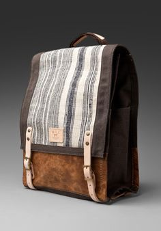 Pha Sin Backpack by Will Leather Goods