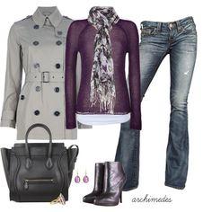 Gray & Purple