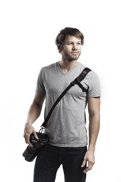 I love this camera strap!