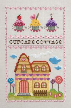 Cupcake cottage.................................